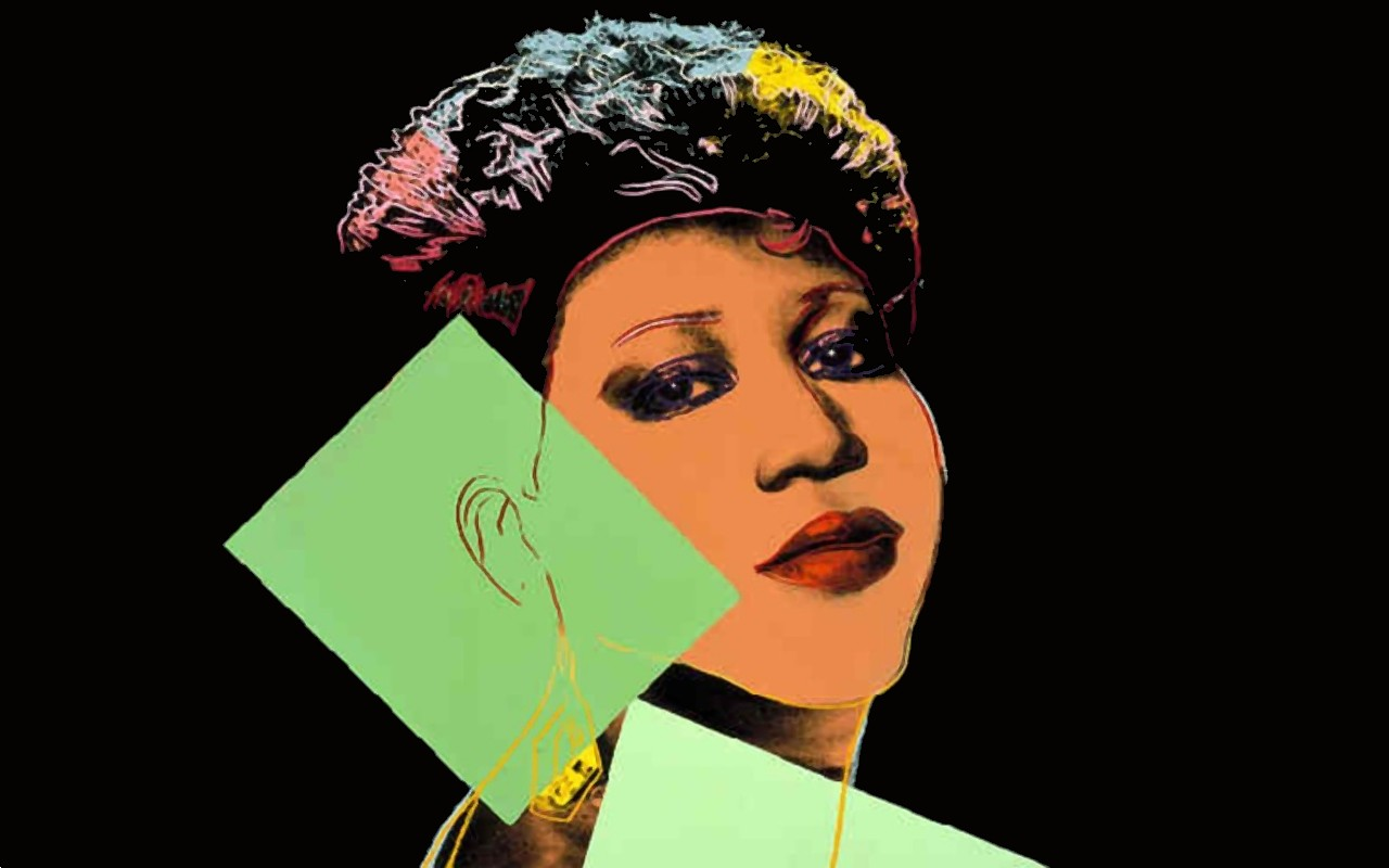 Aretha Franklin by Andy Warhol