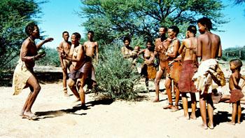 bushmen dancing