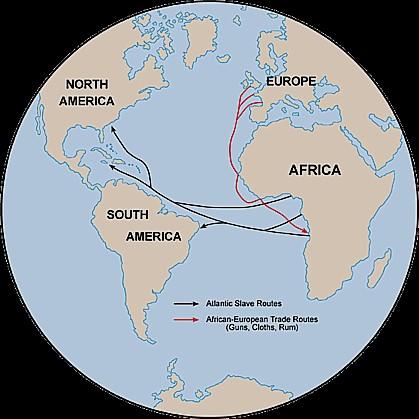 slave  & trade routes