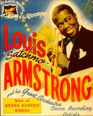 De New Orleans à Chicago et Louis Armstrong dans Histoire-Jazz louisarmstrongposter