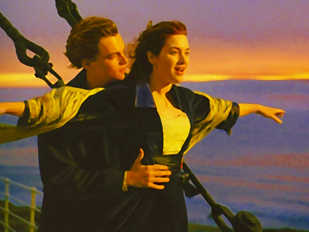 titanic jack & rose wallpaper 1024x768