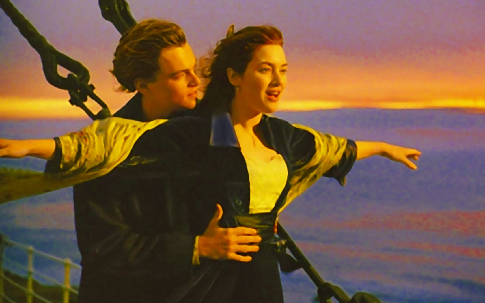 titanic jack & rose wallpaper 1680x1050