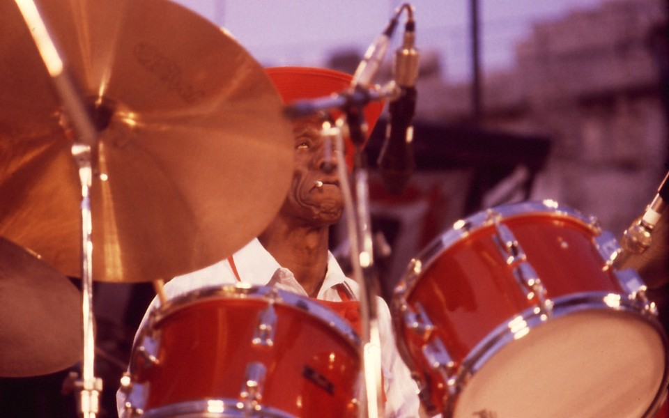 Art Blakey Nimes Jazz Festival jul 1980 -04