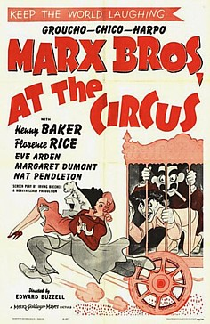 Marx Brothers At the Circus poster small