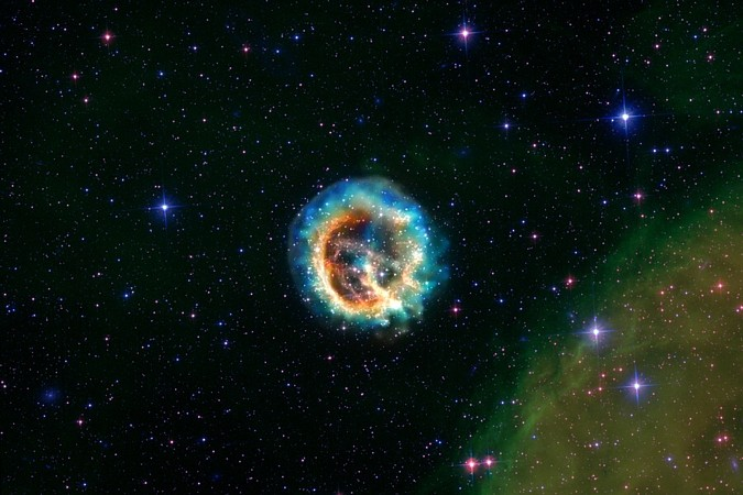 supernova in Magellan sm