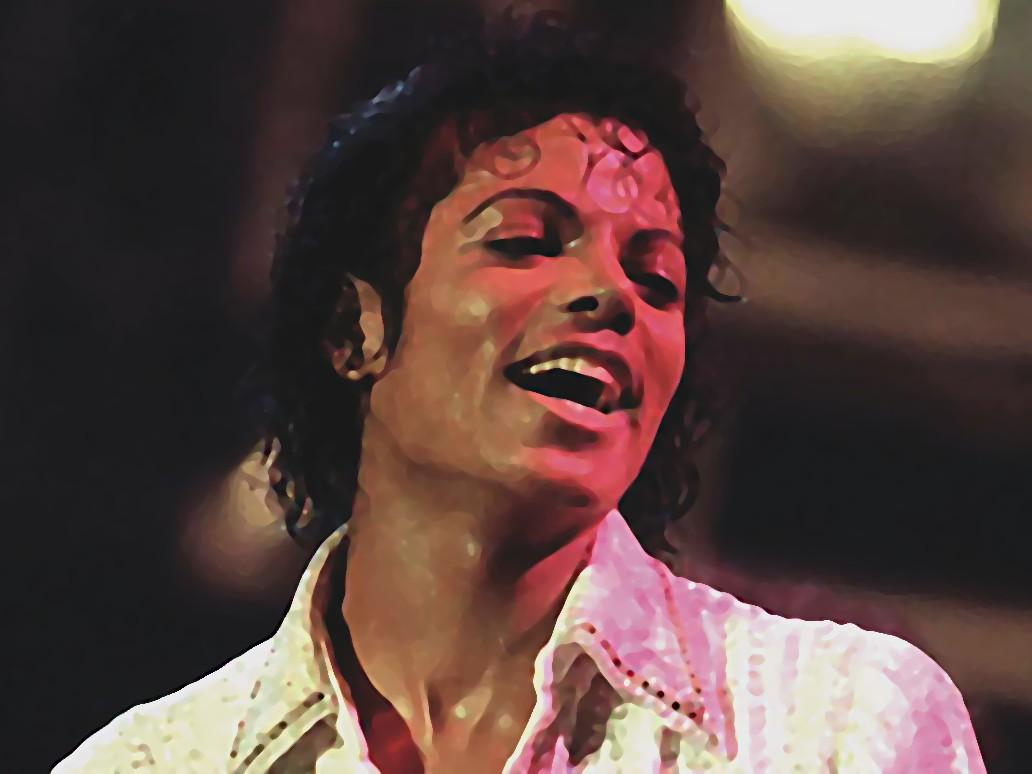 Michael Jackson smiles 0.75