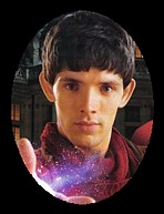 Colin Morgan as Merlin, Northern Irish actor, born Jan 1, 1986