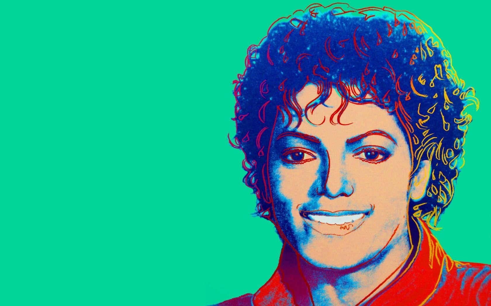 Michael Jackson by Andy Warhol (1984)wallpaper 1680x1050