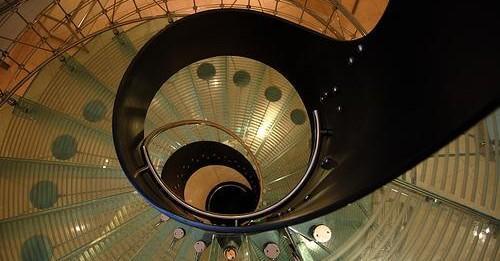 Eva Jiřičná Spiral staircases