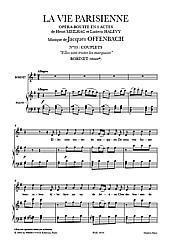 Jacques Offenbach & Ludovic Halévy - La Vie parisienne - `Elles sont tristes les marquises`