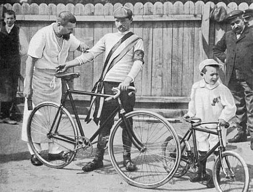 Maurice Garin, premier vainqueur du Tour de France en 1903