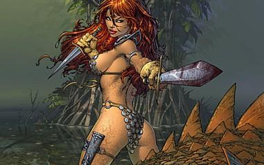 Red Sonja by Marc Silvestri